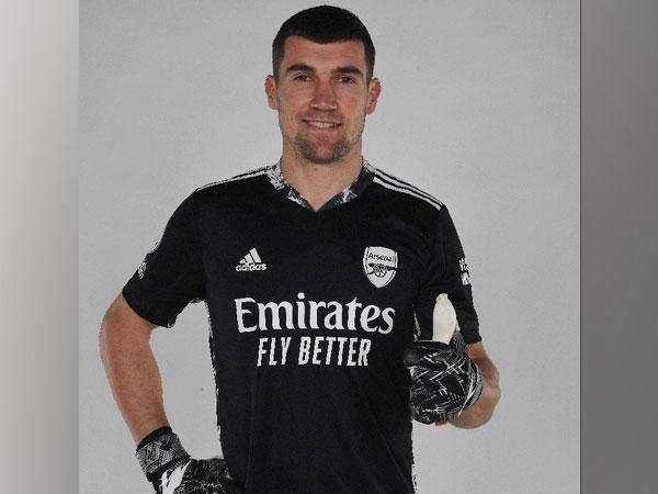 Goalkeeper Mat Ryan (Photo/ Arsenal Twitter)