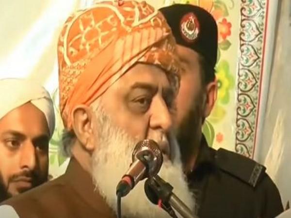 Jamiat Ulema-e-Islam president Maulana Fazal-ur-Rehman
