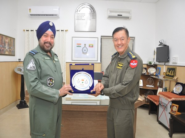 General Maung Maung Kyaw, Commander-in-Chief (Air) of the Republic of the Union of Myanmar, visited Air Force Station Pune