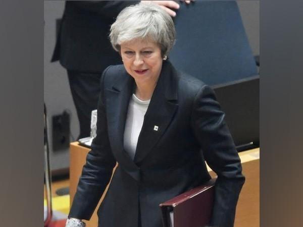 UK PM Theresa May (file photo)