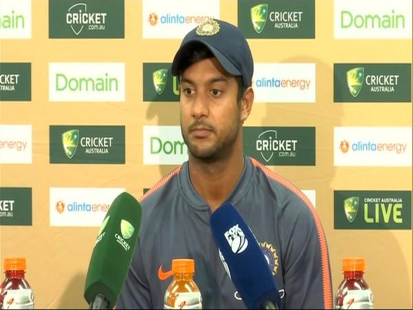 India top-order batsman Mayank Agarwal