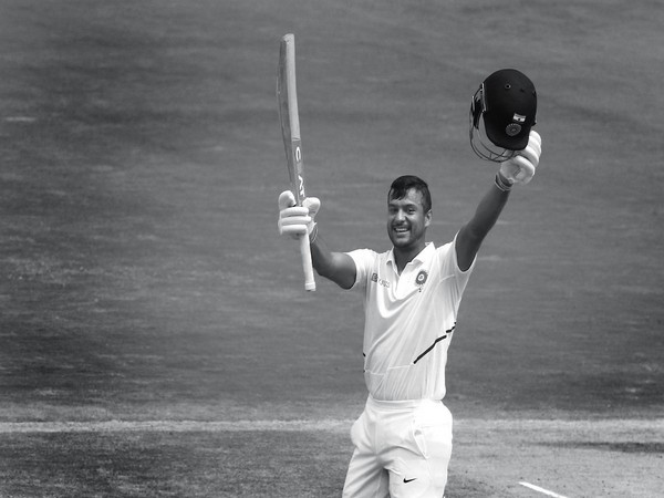 Mayank Agarwal smashes his first double century in Test (Photo: BCCI's Twitter)