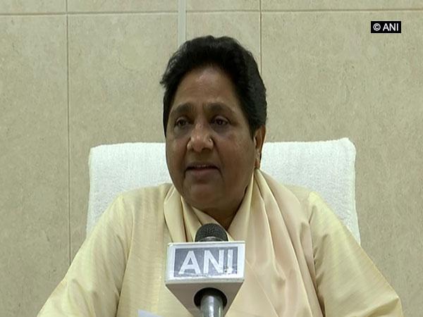BSP chief Mayawati [Photo/ANI]