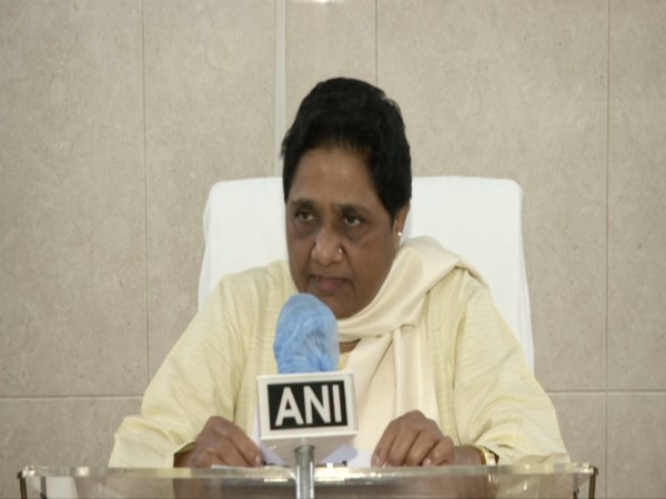BSP chief Mayawati speaking to ANI in New Delhi on Saturday. Photo/ANI