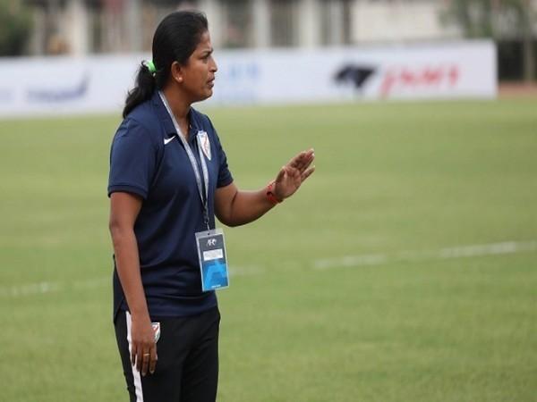 Indian senior women's football team coach Maymol Rocky