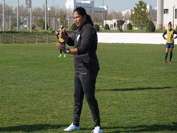 Indian women's football team head coach Maymol Rocky (Photo/ Indian Football Team Twitter)