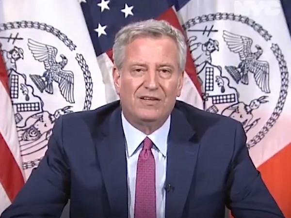 New York City Mayor Bill de Blasio (credit: Bill de Blasio Twitter)