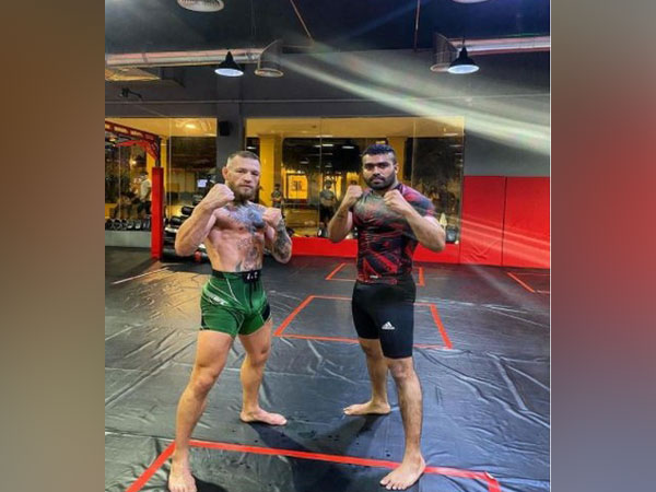 Conor McGregor with Ramston Rodrigues (Photo/ Conor McGregor Instagram)
