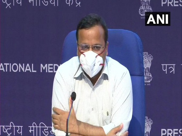 Health Ministry Joint Secretary, Lav Agarwal speaking at a press briefing on Thursday. (Photo/ANI)