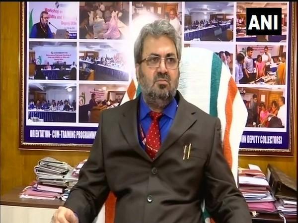 Kerala Chief Electoral Officer T R Meena speaking to media in Thiruvananthapuram on Monday.