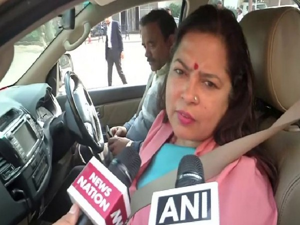 BJP MP Meenakshi Lekhi speaking to ANI on Friday.