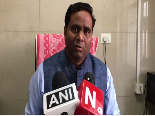 Dr Pradeep speaking with reporters on Saturday. Photo/ANI