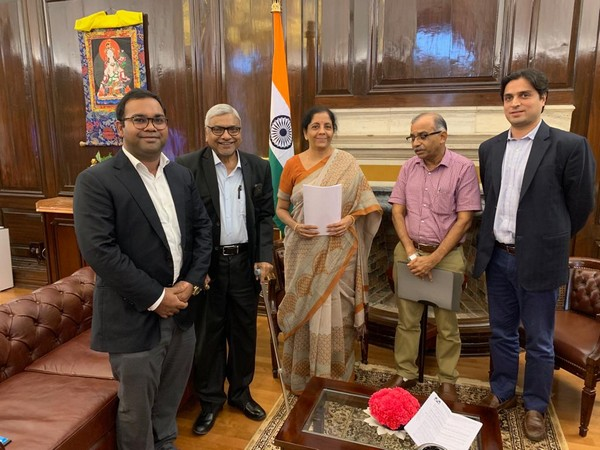 Meeting with Nirmala Sitharaman