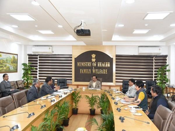 Union Health Ministry held a review meeting on preparedness on Coronavirus