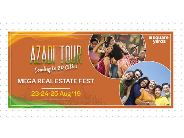 Mega Real Estate Fest Azadi Tour Coming to 20 Cities Globally – 23rd-24th-25th August, 2019