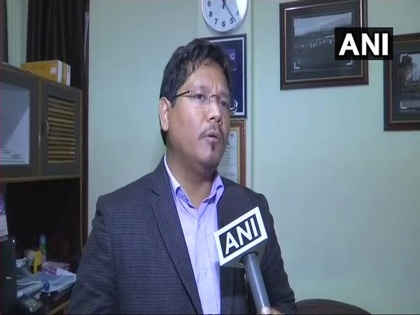 Meghalaya Chief Minister Conrad Sangma Speaking to ANI on Wednesday, Photo/ANI