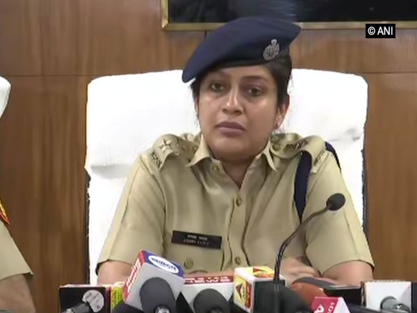 District Commissioner of Police (DCP) Meghna Yadav, Shahdara speaking to reporters in New Delhi on Monday.