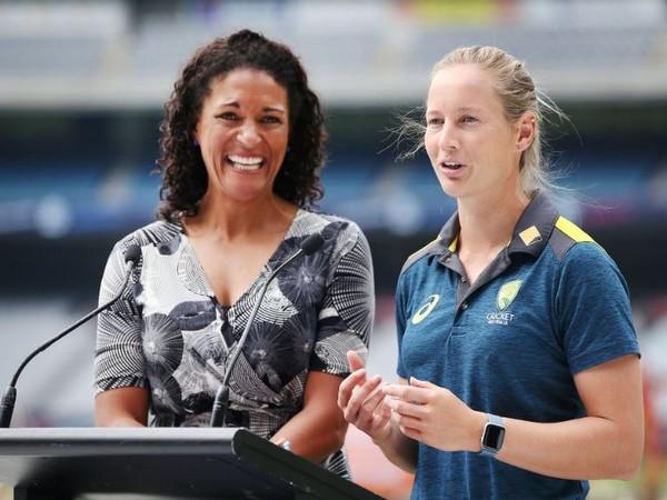Melanie Jones (left) (Photo/ Cricket Australia Twitter)