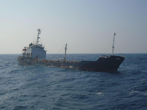 Indian Coast Guard (ICG) coordinated rescue of 13 Indian crew today at 1130 hrs from a distressed Merchant tanker MT Reem which was on passage from Basrah in Iran to Hazira in India