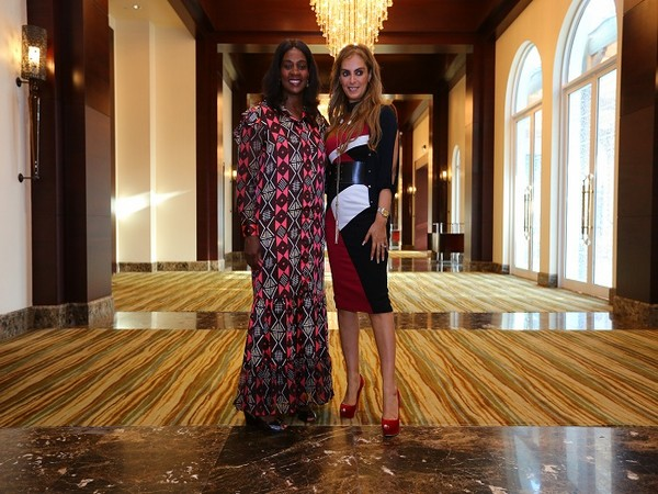 H.E. CLAR WEAH, First Lady of Liberia and Ambassador of 'Merck More Than a Mother' with Dr. Rasha Kelej, CEO of Merck Foundation and President, Merck More Than a Mother