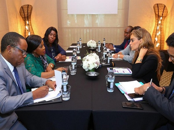 The First Lady of Zimbabwe and Ambassador of Merck More Than a Mother with Dr Rasha Kelej, CEO of Merck Foundation and President, Merck More Than a Mother