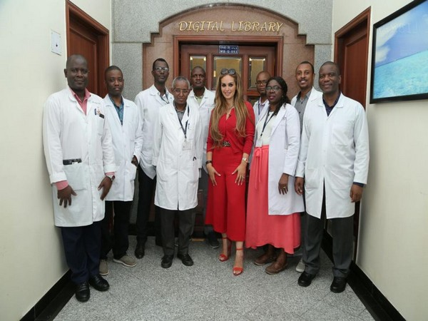 Senator Dr Rasha Kelej, CEO of Merck Foundation with Merck Foundation Oncology Fellowship Alumni