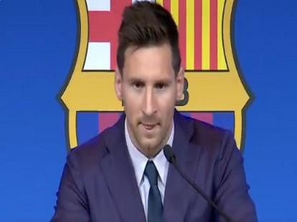 Argentina striker Lionel Messi (Photo/ FC Barcelona Twitter)