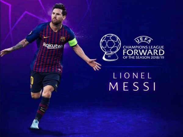 Barcelona's Lionel Messi (Photo/ ChampionsLeague Twitter)