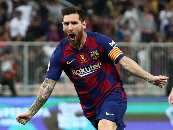 Barcelona striker Lionel Messi (File photo)