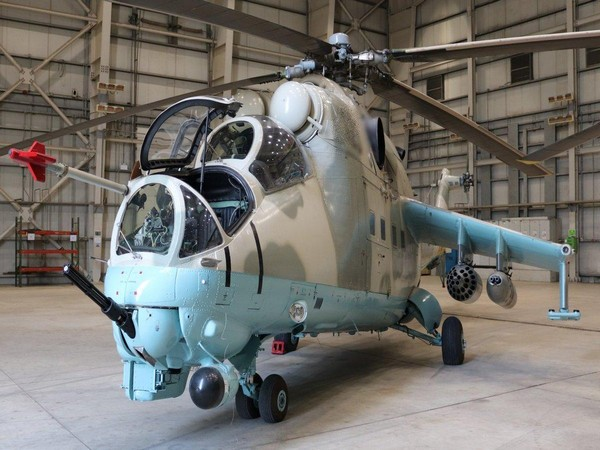 Mi-24 attack helicopters (File photo)