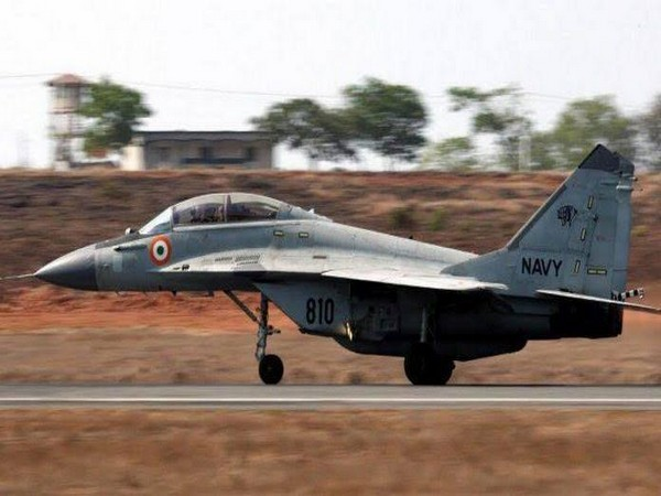 File photo of a MiG-29K naval fighter aircraft