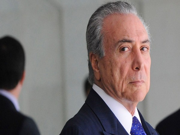 Former Brazilian President Michel Temer (File Photo)