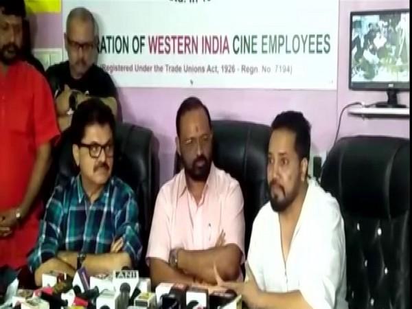 Mika Singh at a press briefing in Mumbai