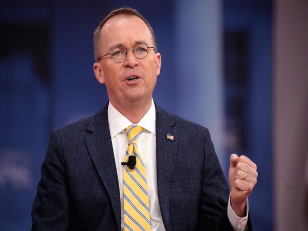 White House acting chief of staff Mick Mulvaney (File pic)