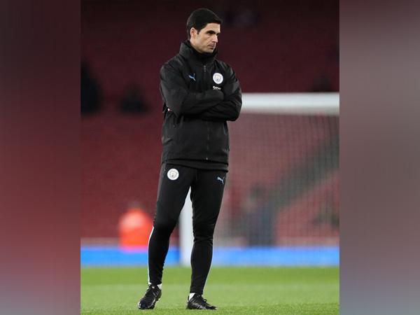 Manchester City's assistant coach Mike Arteta