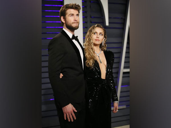 Miley Cyrus and Liam Hemsworth at 91st Academy Awards