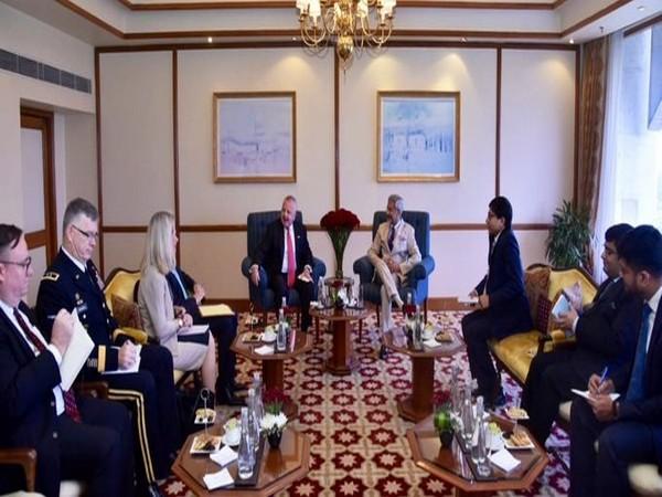 US Deputy Secretary of State John Sullivan met External Affairs Minister S Jaishankar in New Delhi on Friday