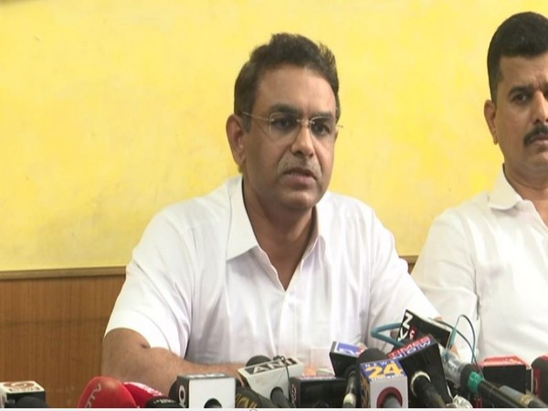 Milind Bharambe addressing a press conference in Mumbai on Tuesday.