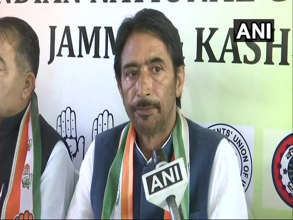 Jammu and Kashmir Pradesh Congress Committee chief G A Mir. (File Photo/ANI)
