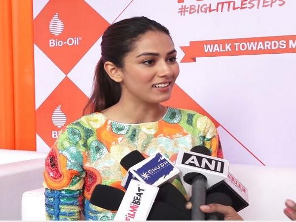 Shahid Kapoor's wife Mira Kapoor speaking to reporters in Mumbai (Photo/ANI)