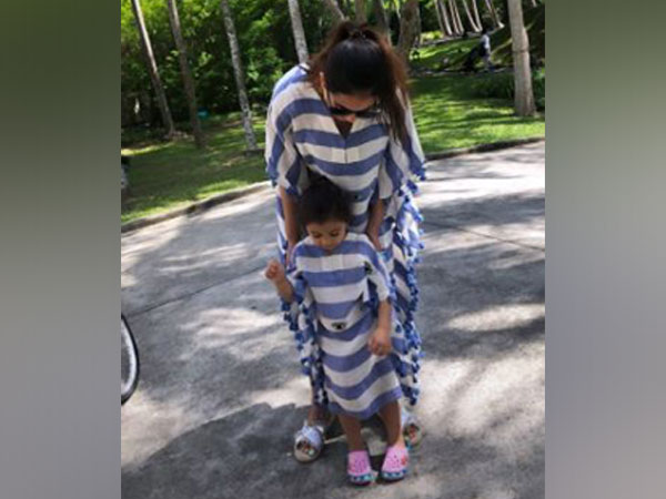 Mira Kapoor with daughter (Image Courtesy: Instagram)