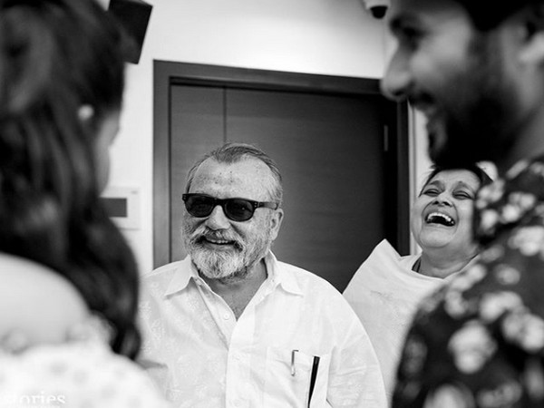 The picture shared by MIra Kapoor on father-in-law and actor Pankaj Kapur's 66th birthday (Image courtesy: Instagram)