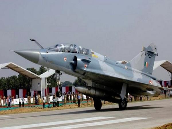 Mirage-2000 jet