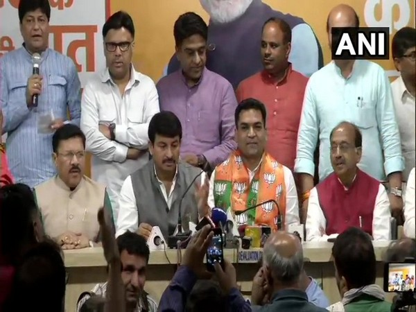 Disqualified AAP MLA Kapil Mishra on Saturday joined the Bharatiya Janata Party (BJP) here.