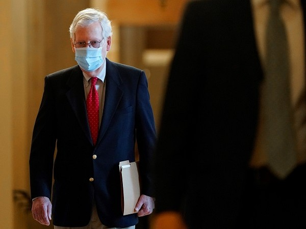 Senate majority leader Mitch McConnell (Credit: Reuters Pictures)