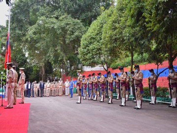 Mizoram Police pay tribute to martyrs