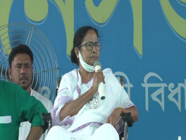 West Bengal Chief Minister Mamata Banerjee in North 24 Parganas on Saturday.