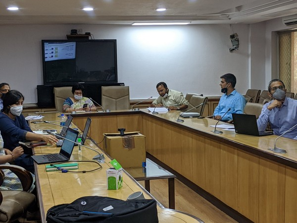 Union Health Secretary Preeti Sudan on Friday chaired a video conference to discuss the management of fatality rate among COVID-19 patients on Friday. (Photo:Twitter)
