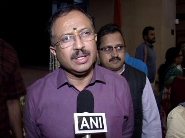 Union Minister V Muraleedharan speaking to ANI on Sunday. Photo/ANI