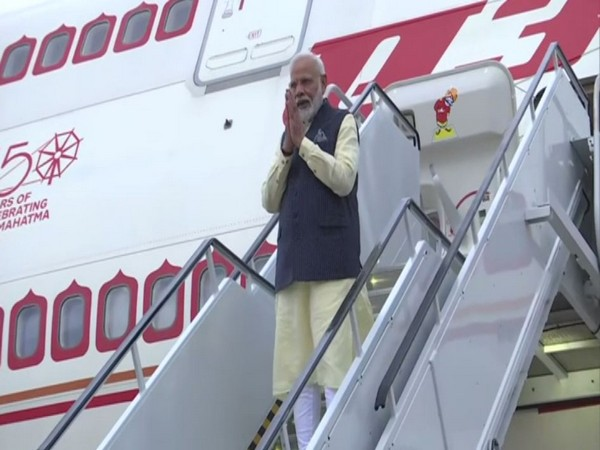 Prime Minister Narendra Modi departs for New York